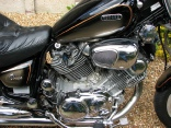 Yamaha Virago 1100 Engine Steam Clean Cleaning Detailing