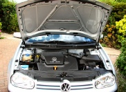 VW Golf Engine Steam Clean Cleaning Detailing